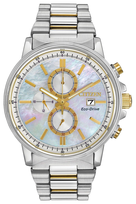 citizen sport chronograph fb3004 58d gold